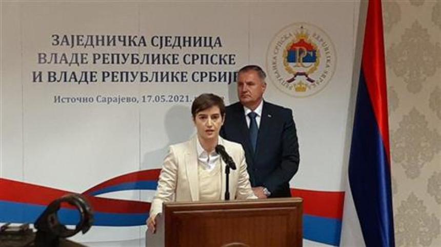 Srbija skoro milijardu evra uložila u investicije i pomoć Srpskoj, položen i kamen temeljac za HE