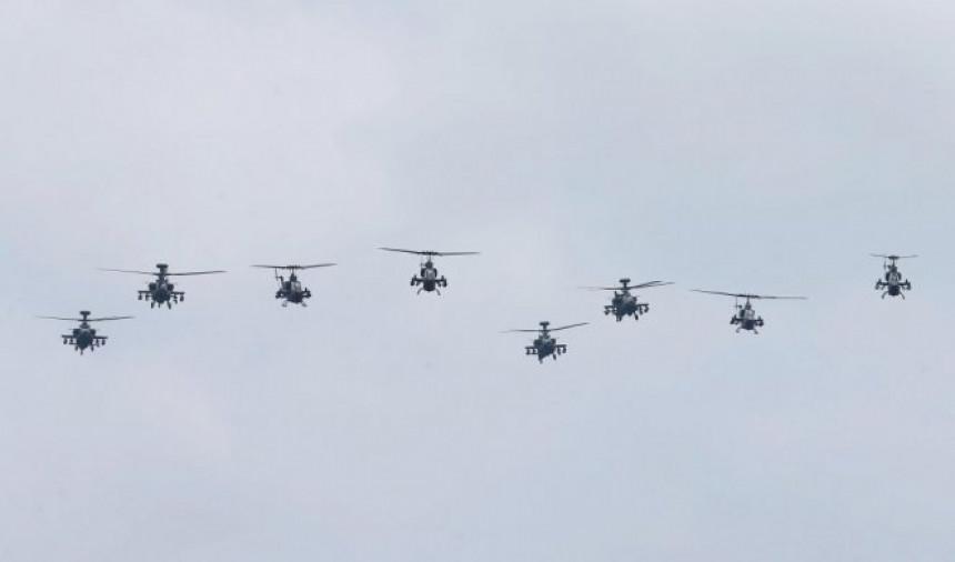 Najezda NATO helikoptera iz pravca Austrije