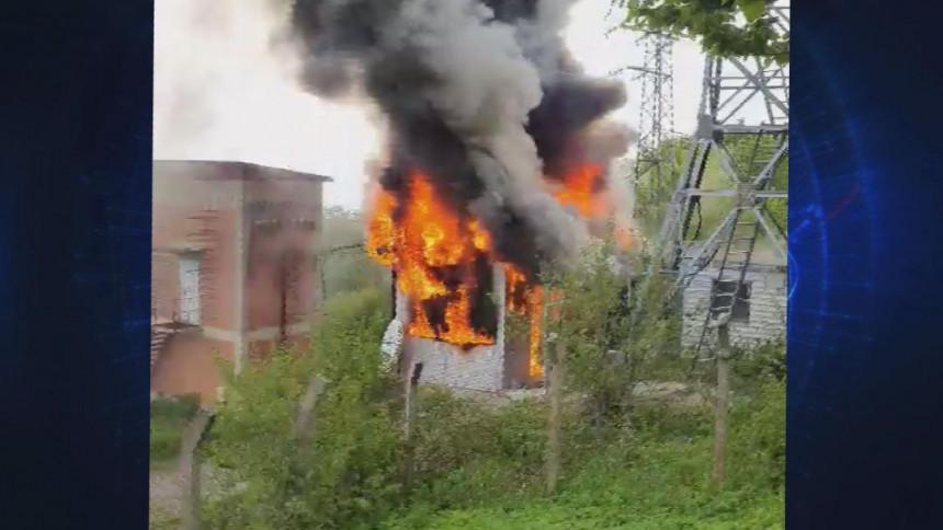 U požaru izgorjela oprema na predajniku BN TV i BN radija na Kozari