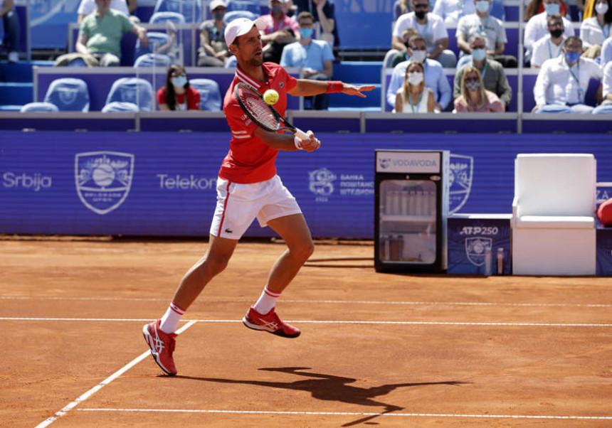 Novak Đoković osvojio turnir u Beogradu