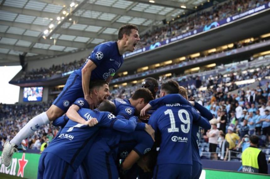 Fudbaleri Čelsija osvajači su Lige šampiona