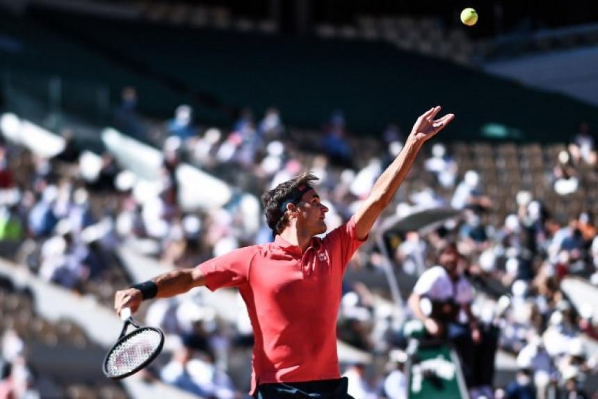 """Rodžer Federer se """"prošetao"""" do drugog kola"""