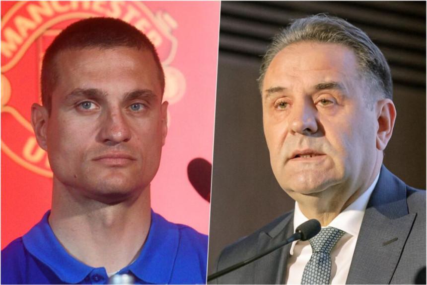 Видић: Људима из политике није мјесто у српском фудбалу