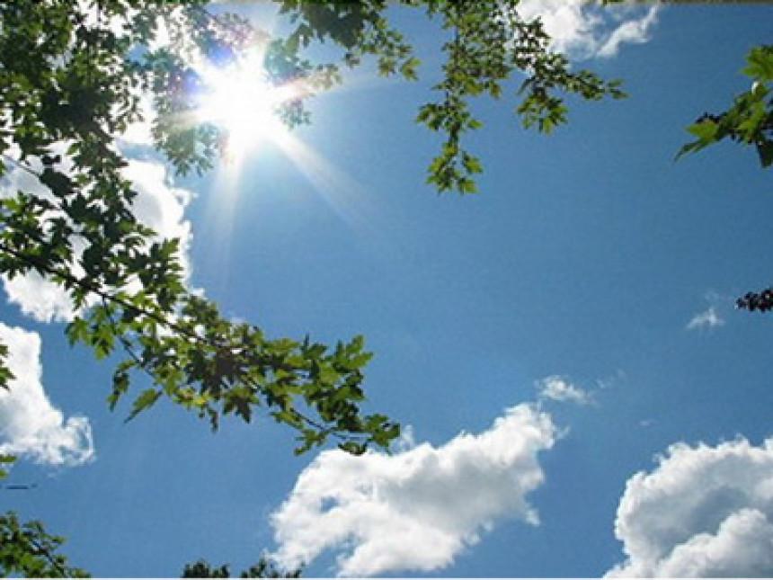 Danas sunčano, temperatura i do 30 stepeni