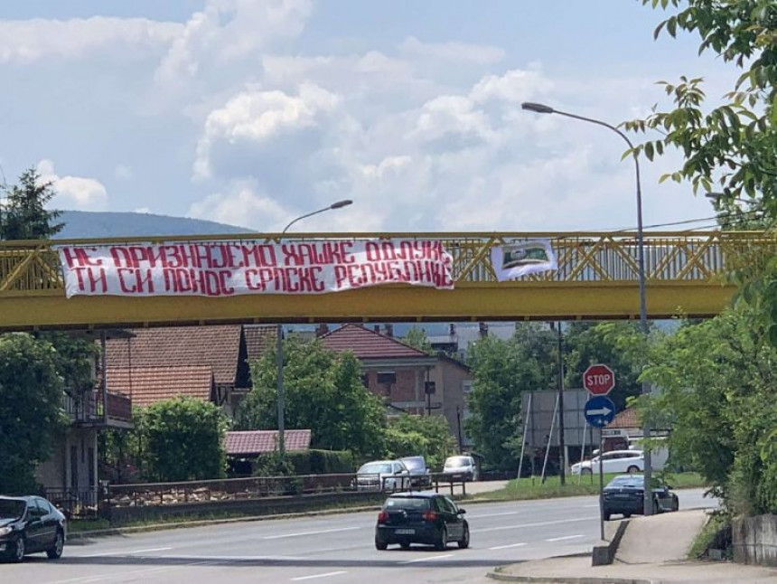 "Transparent u Banjaluci: ""Ti si ponos Srpske Republike"""