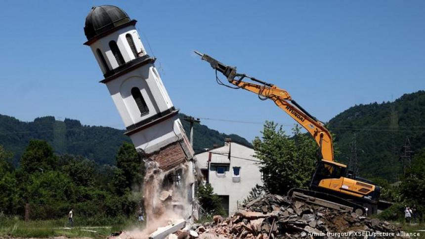 Рушење цркве није било у складу са договором!