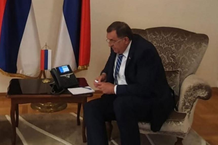 Oglasio se Dodik o najavljenim sankcijama SAD