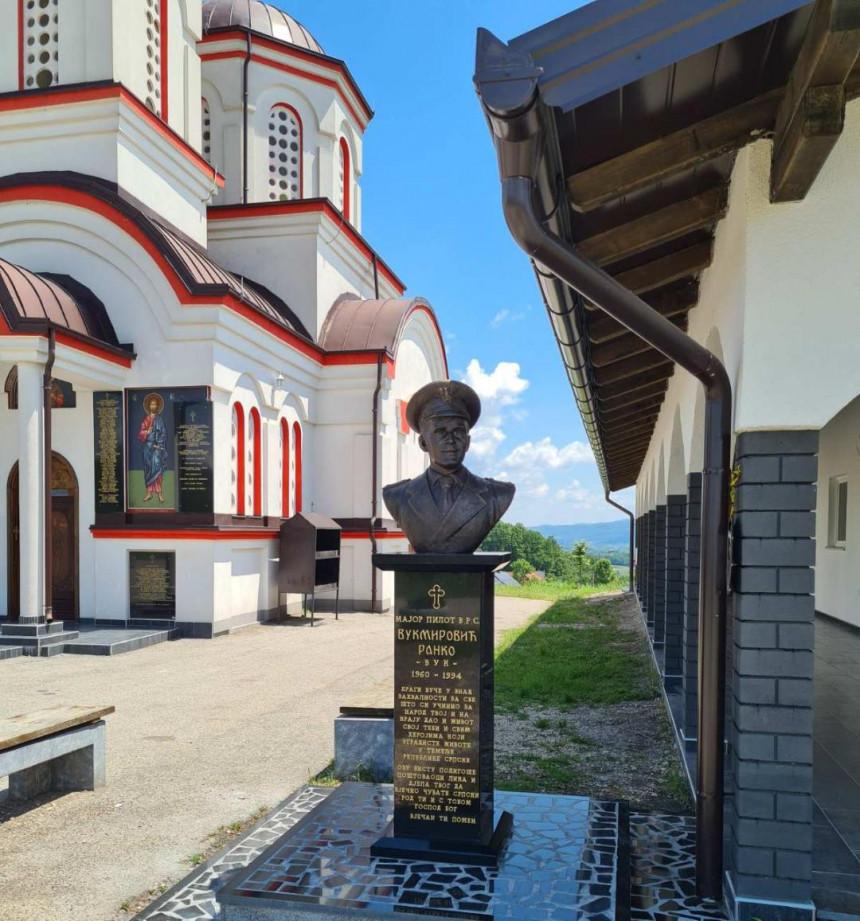 Bista za vječno sjećanje na majora Ranka Vukmirovića