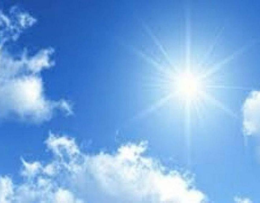 Danas sunčano vrijeme u BiH uz malu oblačnost