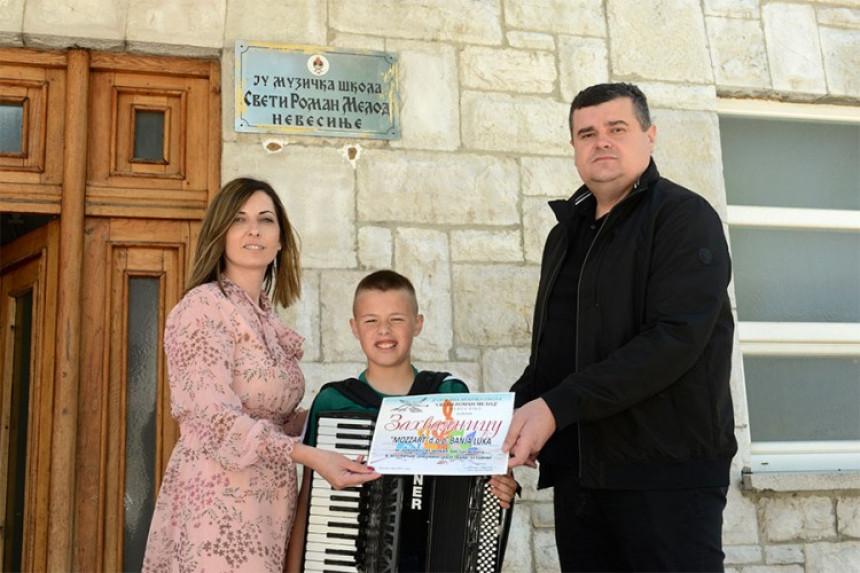 Моззарт има слуха за таленте - подршка младим музичарима из Невесиња