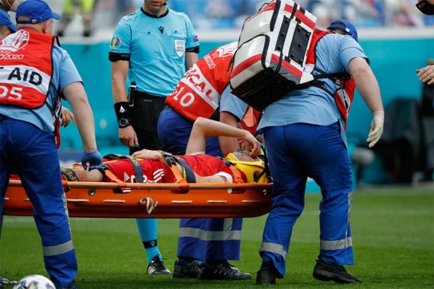 Nova teška povreda: Igrač iznesen na nosilima