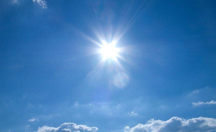 Danas sunčano vrijeme uz malu do umjerenu oblačnost