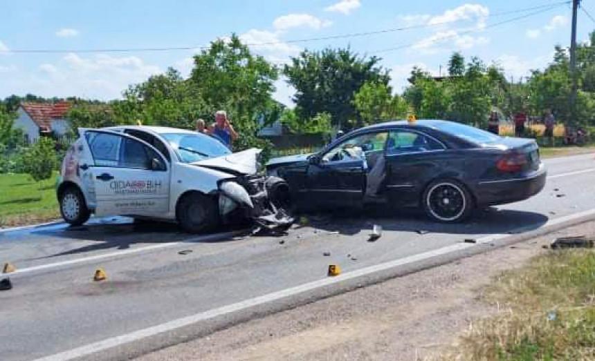Bijeljina: Tri osobe povrijeđene u udesu kod Ljeljenče