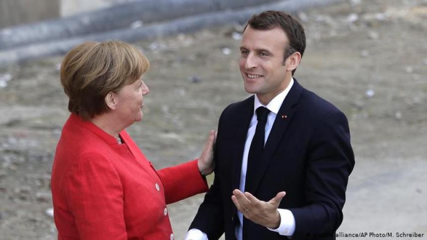 Uskoro sastanak Emanuela Makrona i Angele Merkel