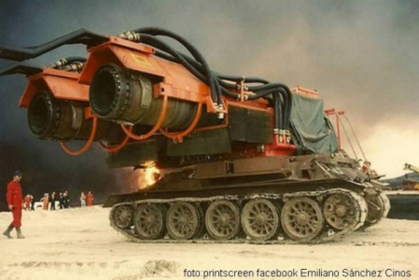 """Big Wind"" (Veliki Vetar) najsnažnije vatrogasno vozilo na svetu!"