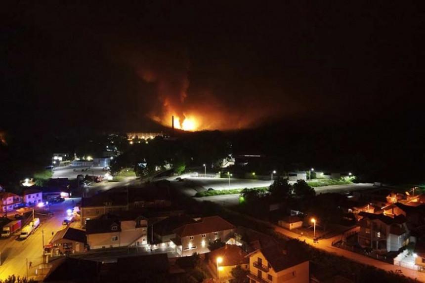 Пожари, експлозије: Шта се дешава у фабрици у Чачку?