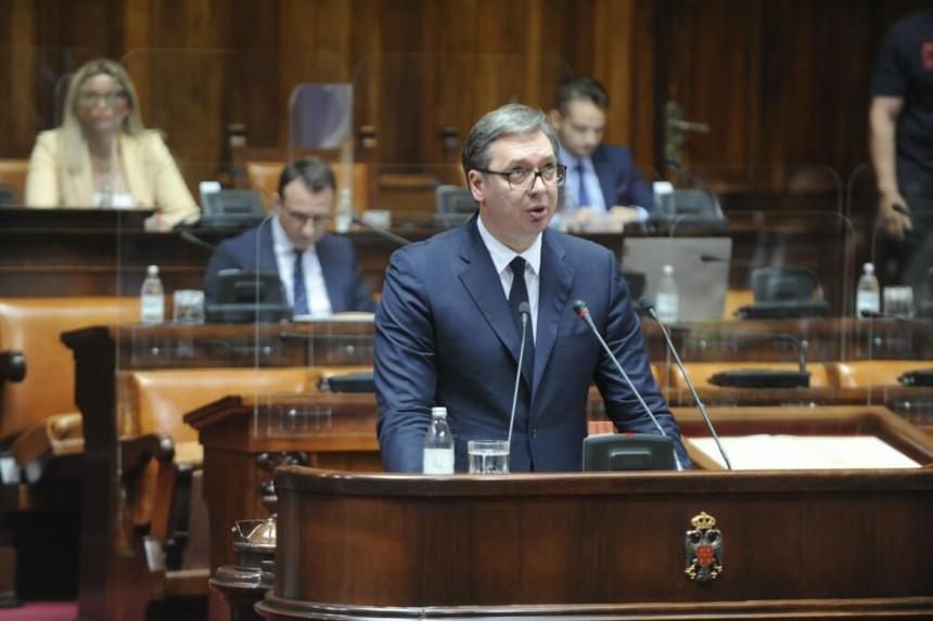 Vučić predstavlja izvještaj o Kosovu i Metohiji
