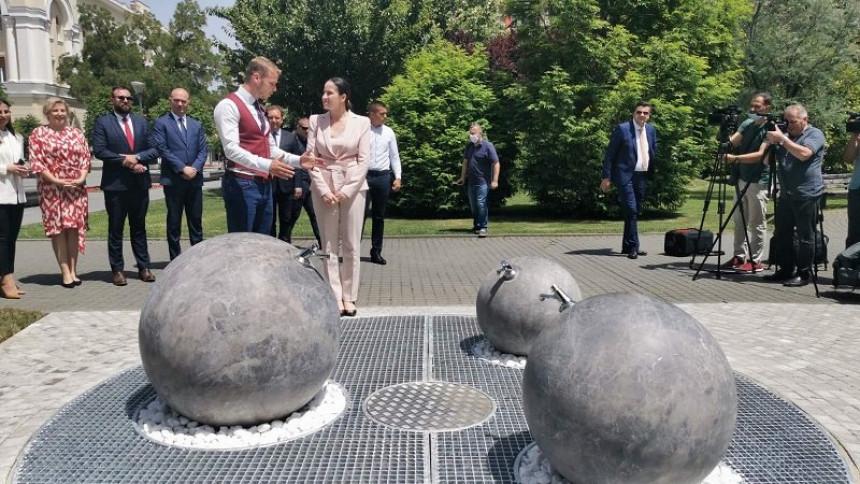 Česma u čast gradonačelnice Sarajeva
