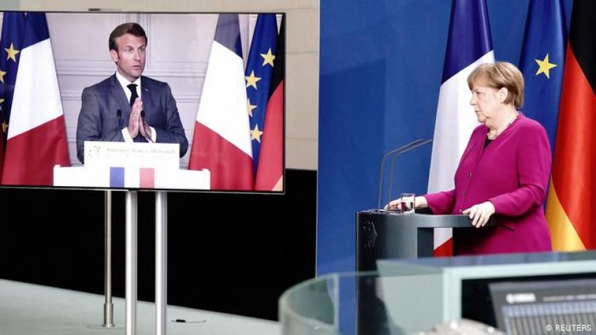 Меркел и Макрон траже састанак врха ЕУ и Путина