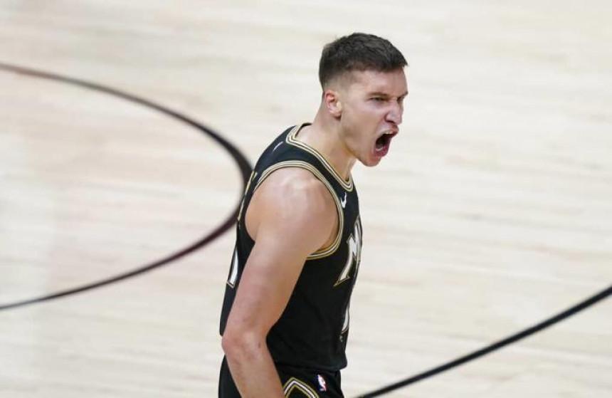 Богдановић био најефикаснији у тиму Атланте