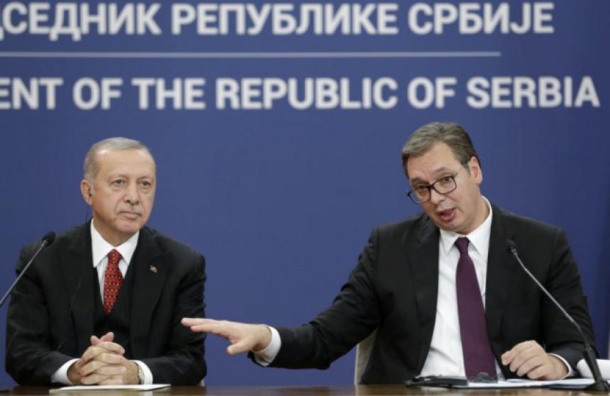 Vučić odgovorio Erdoganu: Ovo nije tursko