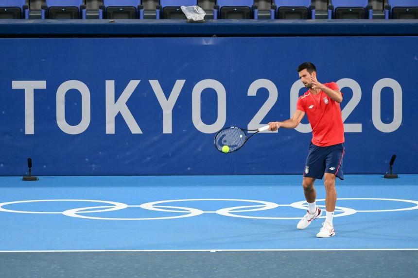 Novak Đoković vrhunski započeo Olimpijske igre