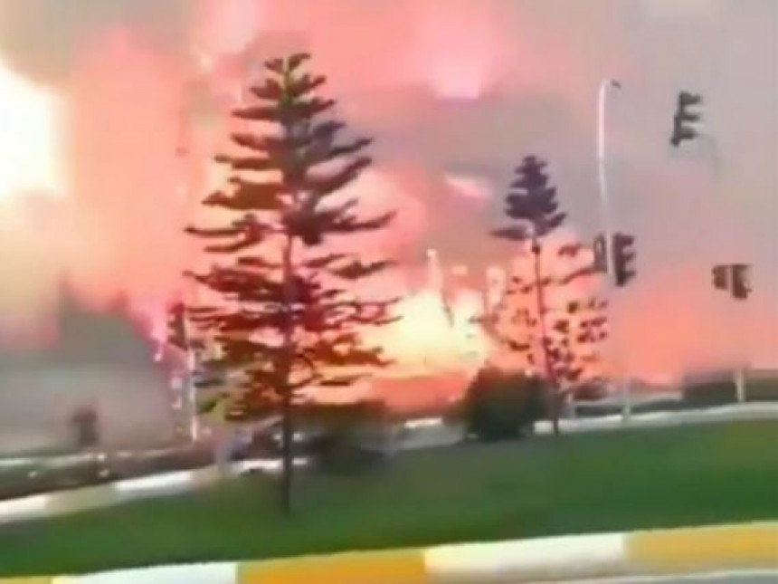 U Antaliji buknuo požar, evakuisano stanovništvo
