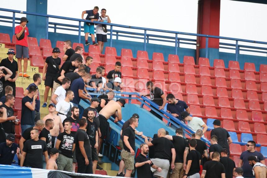 Banjaluka: Navijač Borca pao sa tribine Gradskog stadiona