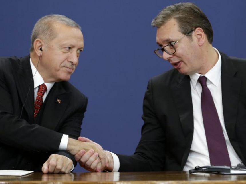 Vučić razgovarao sa Erdoganom, tema situacija u regionu