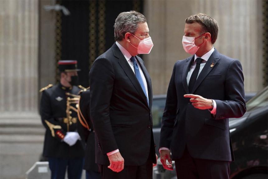 Francuska i Italija spremaju post Merkel savez