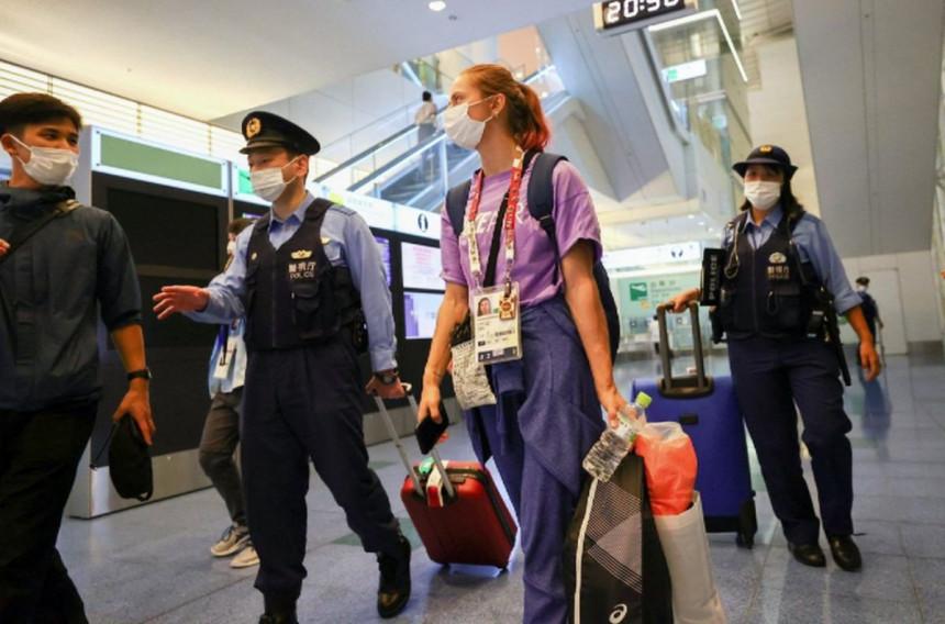 Bjeloruska olimpijka bezbjedna u Tokiju, odbila 'prisilni' let kući