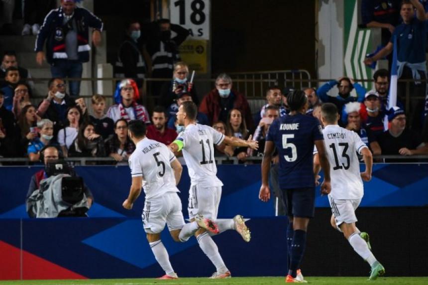 BiH iznenadila Francusku neriješenim rezultatom