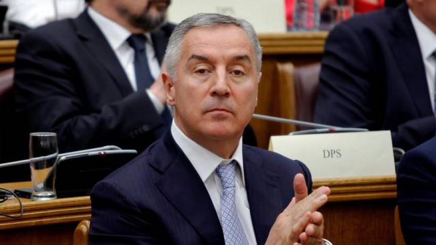 Почиње процедура опозива у Скупштини Црне Горе