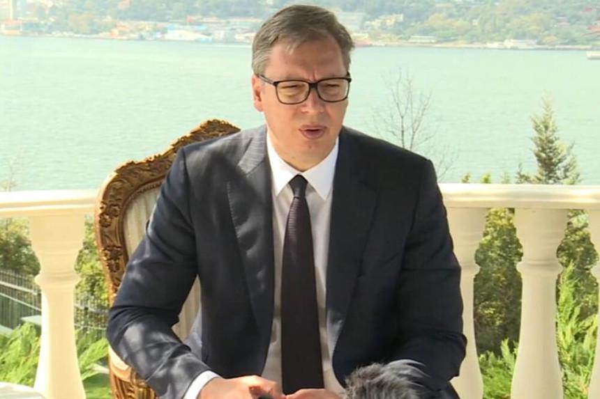 Vučić iz Istanbula: Erdogan uskoro dolazi u Srbiju