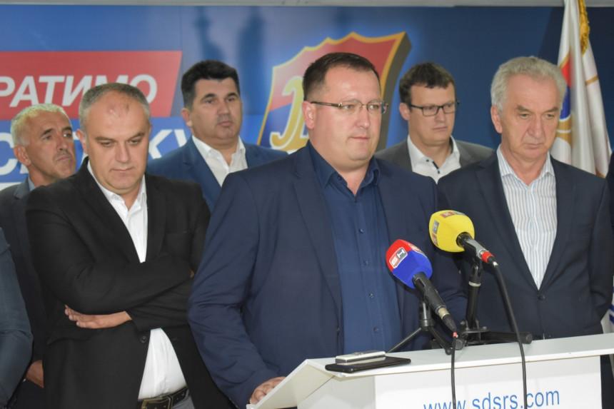 СДС ће покренути иницијативу за смјену Љубише Ћосића