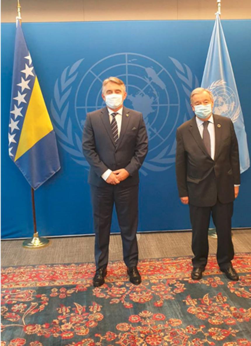 Željko Komšić sa generalnim sekretarom UN-a