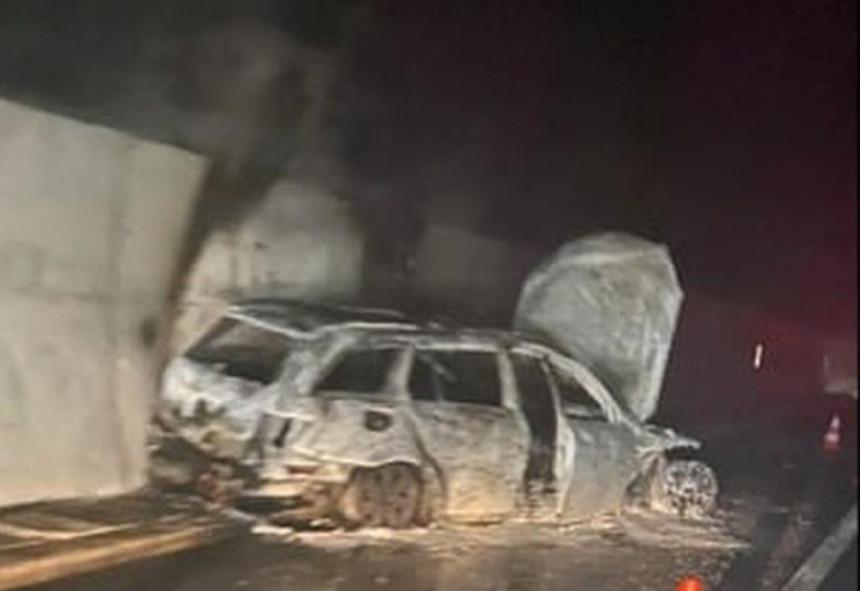 Нападнуте судије код Јабланице, запаљено им ауто