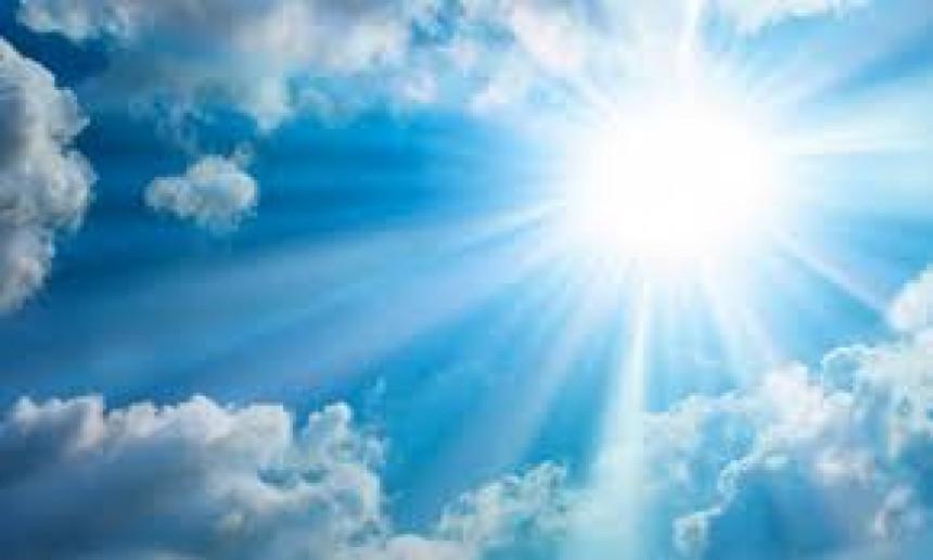 Toplo vrijeme, temperatura tokom dana do 29 stepeni