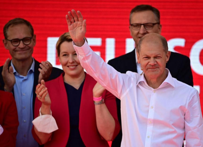 Njemačka glasala: Olaf Šolc uvjeren u kancelarsko mjesto