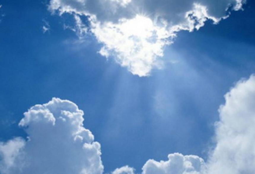 Danas promjenljivo oblačno, tokom dana moguća kiša