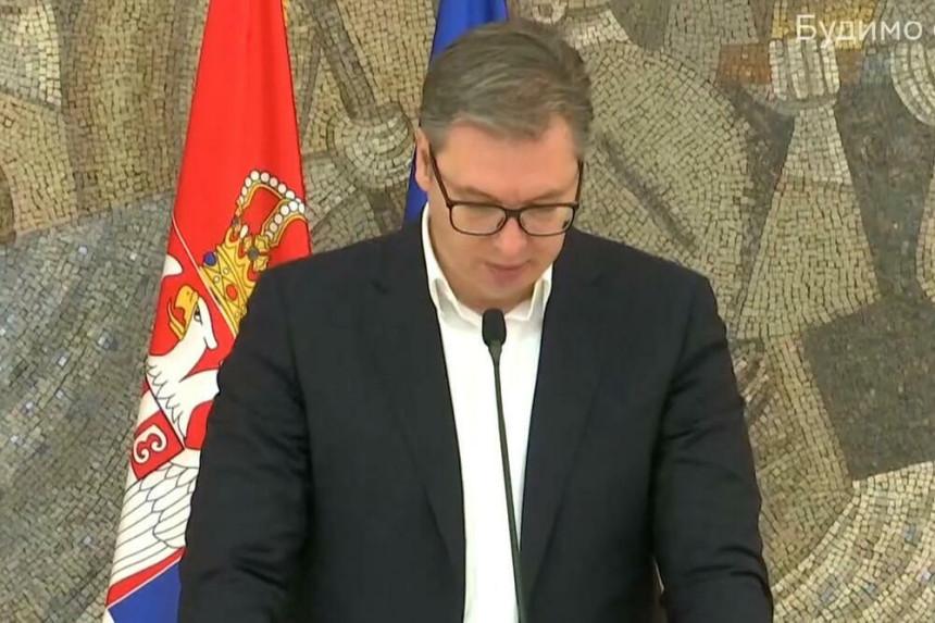 Амбасадори Квинте код Вучића, има ли новог приједлога?