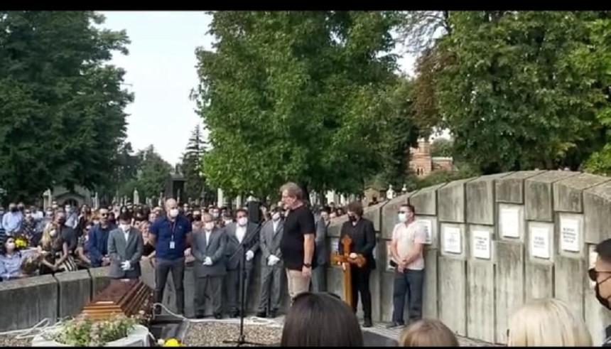 Nenad Nenadović sahranjen u Aleji zaslužnih građana