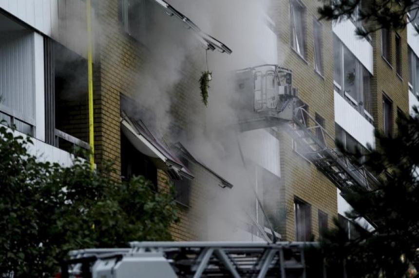 Експлозија у згради - најмање 25 особа повријеђено (ВИДЕО)