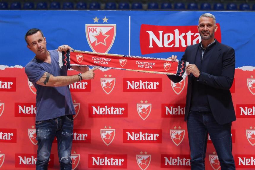 Nektar pivo novi sponzor KK Crvena Zvezda