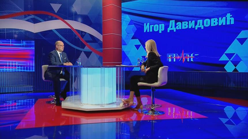Davidović: Milorad Dodik je kamen oko vrata Srbiji
