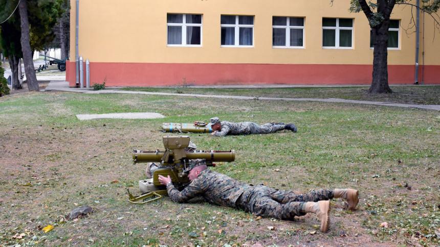 Oružane snage BiH u Požarevcu na obuci u Srbiji