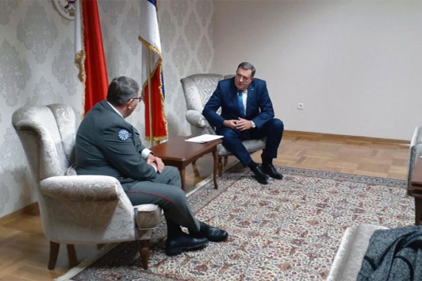 I.Sarajevo: Dodik sa komandantom EUFOR-a