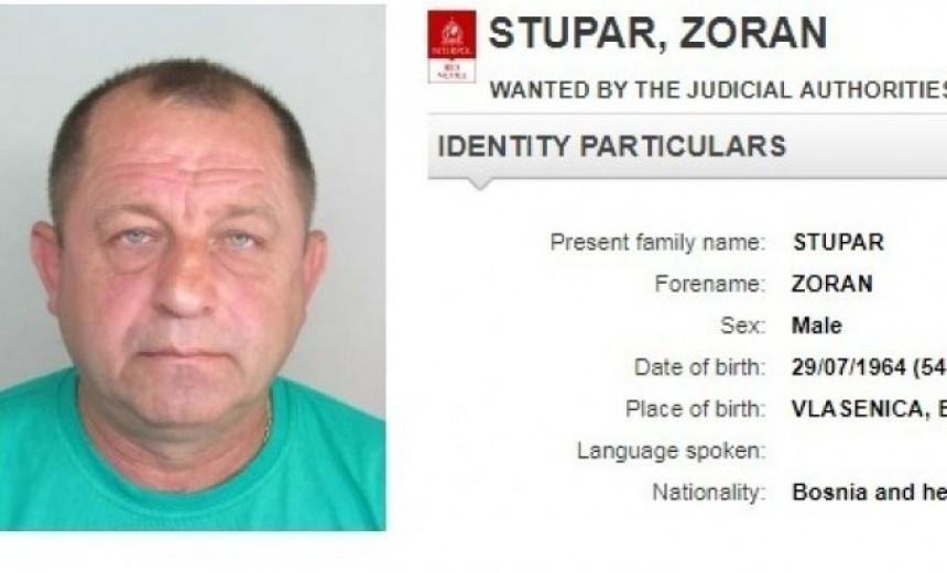 Potjernica za Zoranom Stuparom