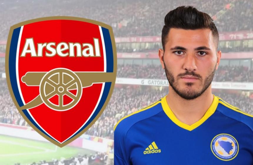 Venger ostvario želju: Sead Kolašinac u Arsenalu!
