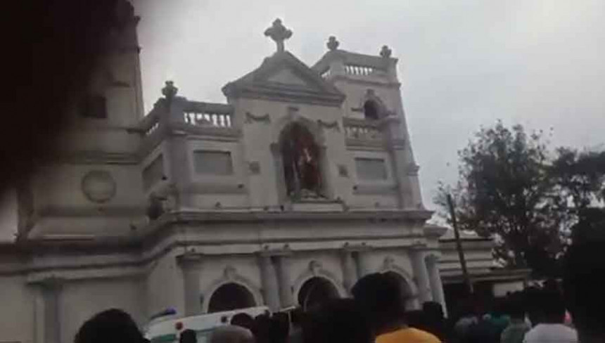 Masakr na Uskrs u Šri Lanki